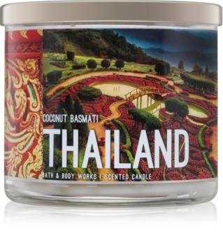 Bath & Body Works Coconut Basmati dišeča sveča  411 g  Thailand