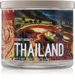 Bath & Body Works Coconut Basmati vonná sviečka Thailand
