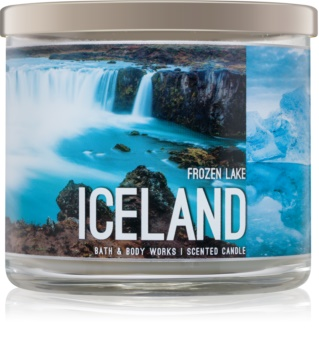Bath & Body Works Frozen Lake illatos gyertya  411 g  Iceland