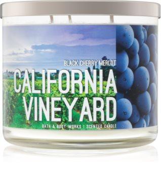 Bath & Body Works Black Cherry Merlot duftkerze  I. California Vineyard