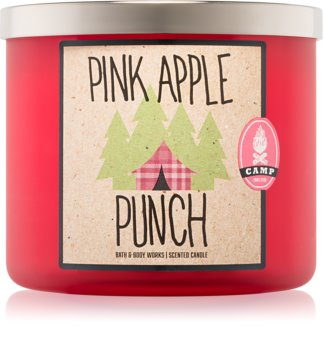 Bath & Body Works Pink Apple Punch vonná sviečka 411 g