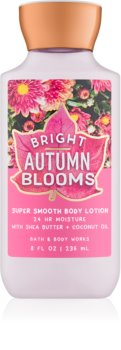 Bath & Body Works Bright Autumn Blooms Body Lotion for Women