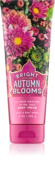 Bath & Body Works Bright Autumn Blooms Bodycrème voor Vrouwen  226 gr