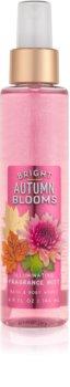 Bath & Body Works Bright Autumn Blooms Body Spray for Women 146 ml glittering