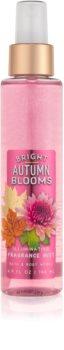 Bath & Body Works Bright Autumn Blooms telový sprej pre ženy 146 ml trblietavý