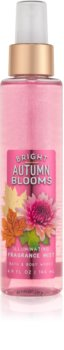 Bath & Body Works Bright Autumn Blooms tělový sprej třpytivý pro ženy 146 ml