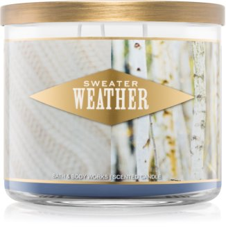 Bath & Body Works Sweater Weather bougie parfumée I. 411 g