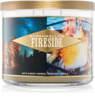 Bath & Body Works Marshmallow Fireside bougie parfumée I. 411 g