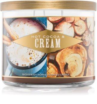 Bath & Body Works Hot Cocoa & Cream bougie parfumée I. 411 g