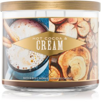 Bath & Body Works Hot Cocoa & Cream vela perfumada I.