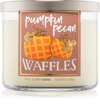 Bath & Body Works Pumpkin Pecan Waffles Geurkaars 411 gr