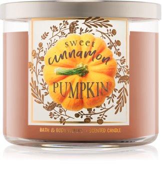 Bath & Body Works Sweet Cinnamon Pumpkin Duftkerze  411 g I.