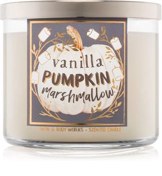 Bath & Body Works Vanilla Pumpkin Marshmallow dišeča sveča  411 g I.