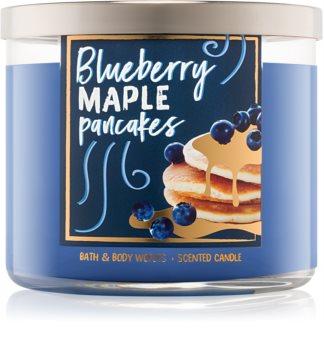 Bath & Body Works Blueberry Maple Pancakes vonná sviečka 411 g