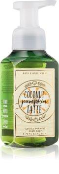 Bath & Body Works Coconut Pumpkin Latte hab szappan kézre