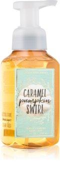 Bath & Body Works Caramel Pumpkin Swirl hab szappan kézre
