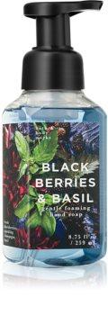 Bath & Body Works Black Berries & Basil hab szappan kézre