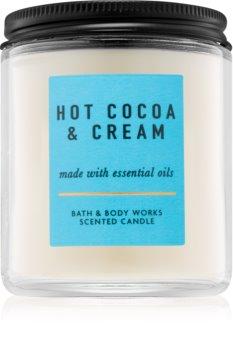 Bath & Body Works Hot Cocoa & Cream vela perfumada  IV. 198 g