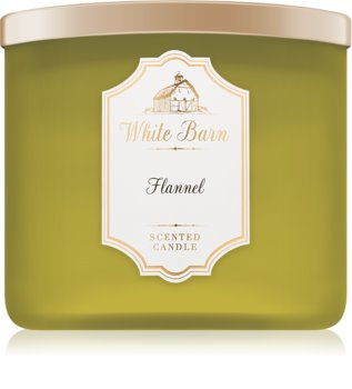 Bath & Body Works Flannel scented candle VI.