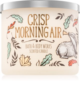 Bath & Body Works Crisp Morning Air dišeča sveča  411 g