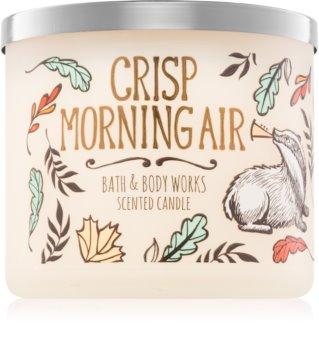 Bath & Body Works Crisp Morning Air illatos gyertya  411 g
