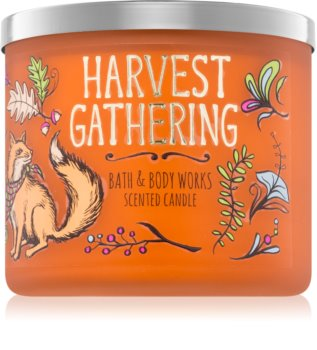 Bath & Body Works Harvest Gathering dišeča sveča  411 g