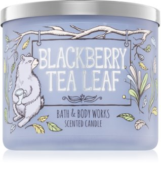 Bath & Body Works Blackberry Tea Leaf vonná svíčka 411 g