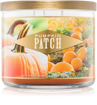 Bath & Body Works Pumpkin Patch Geurkaars 411 gr
