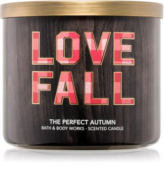 Bath & Body Works Perfect Autumn dišeča sveča  411 g