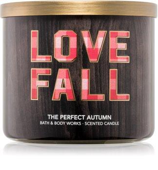 Bath & Body Works Perfect Autumn Geurkaars 411 gr