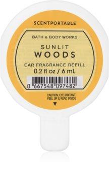 Bath & Body Works Sunlit Woods Auto luchtverfrisser  6 ml