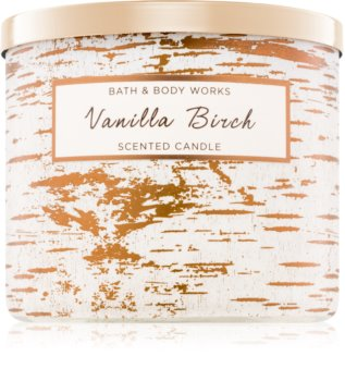 Bath & Body Works Vanilla Birch bougie parfumée 411 g