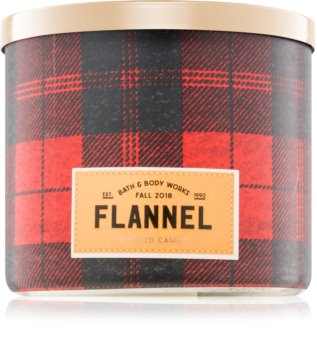 Bath & Body Works Flannel bougie parfumée I. 411 g