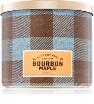 Bath & Body Works Bourbon Maple dišeča sveča  I.