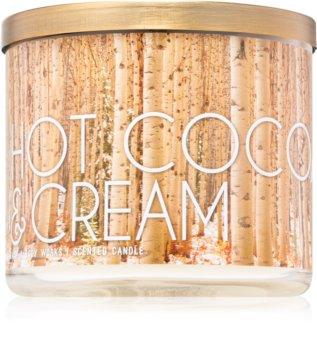 Bath & Body Works Hot Cocoa & Cream geurkaars III. 411 gr