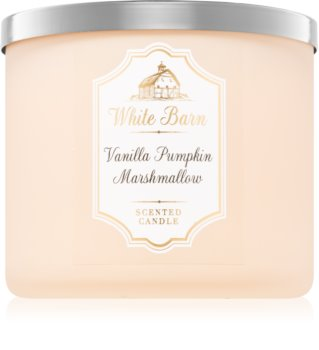 Bath & Body Works Vanilla Pumpkin Marshmallow scented candle