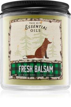 Bath & Body Works Fresh Balsam vonná svíčka 198 g