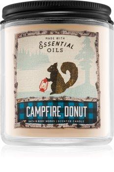 Bath & Body Works Campfire Donut Duftkerze  198 g I.