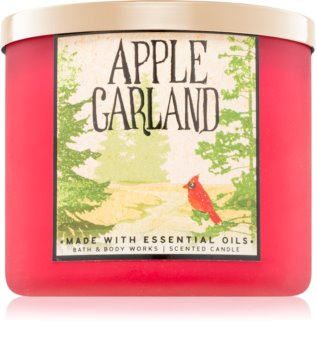 Bath & Body Works Apple Garland vonná sviečka 411 g