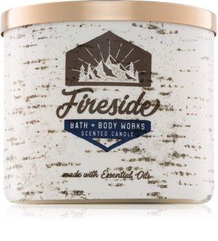 Bath & Body Works Fireside Duftkerze  411 g