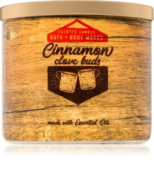 Bath & Body Works Cinnamon & Clove Buds Geurkaars 411 gr