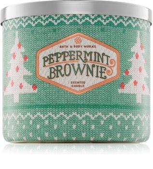 Bath & Body Works Peppermint Brownie dišeča sveča  411 g