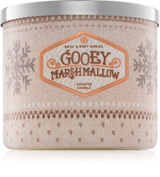 Bath & Body Works Gooey Marshmallow Duftkerze  411 g