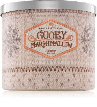 Bath & Body Works Gooey Marshmallow vonná sviečka 411 g