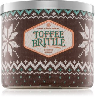 Bath & Body Works Toffee Brittle Duftkerze  411 g