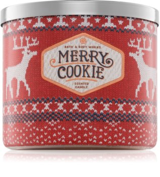 Bath & Body Works Merry Cookie Duftkerze  411 g
