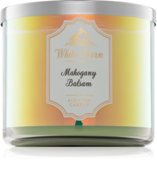 Bath & Body Works Mahogany Balsam bougie parfumée 411 g I.