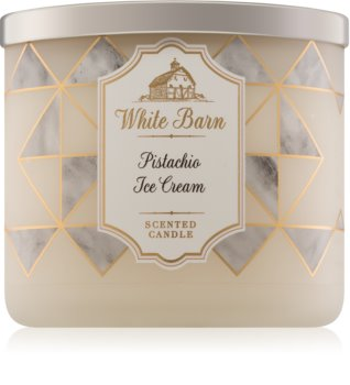 Bath & Body Works Pistachio Ice Cream vonná svíčka 411 g