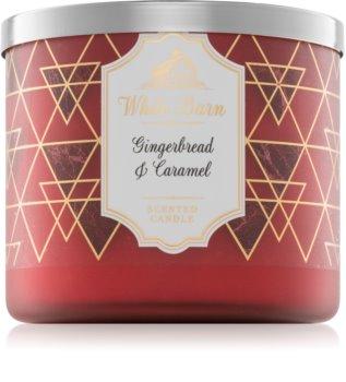 Bath & Body Works Gingerbread & Caramel vonná svíčka 411 g