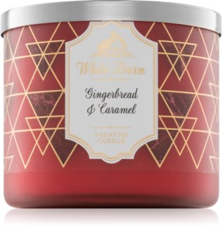 Bath & Body Works Gingerbread & Caramel vonná sviečka